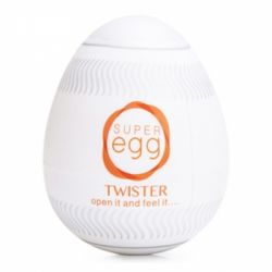 EGG MASTURBADOR TWISTER MAGICAL  - COD. 1013