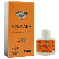 VEMVARA LUBRIFICANTE HOT ICE 15ML SEGRED LOVE